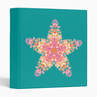 Pink Sea star, binder