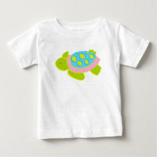 Pink Sea Turtle Cotton T Shirt