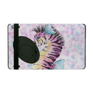 pink seahorse cover for iPad