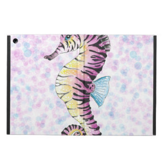 pink seahorse iPad air cases