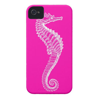 Pink Seahorse iPhone Case