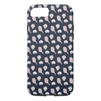 Pink Seashell Pattern Case-Mate iPhone Case