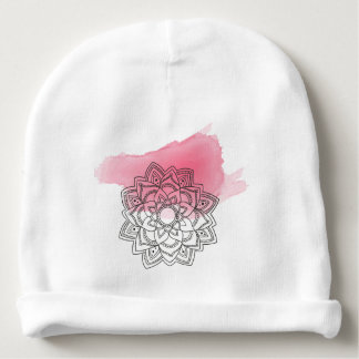 Pink sends it baby beanie