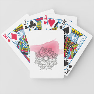 Pink sends it bicycle playing cards
