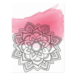 Pink sends it postcard