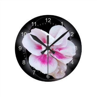 Pink Shades Round Clock