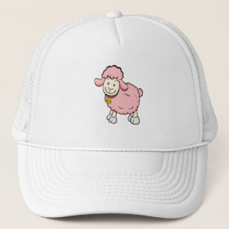 Pink Sheep Hat