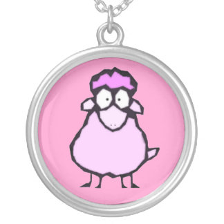 Pink Sheep Necklace