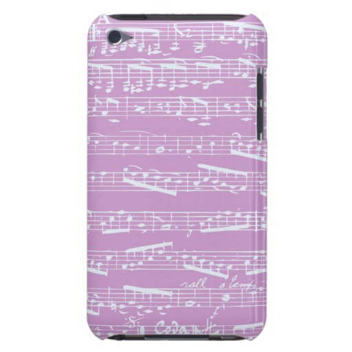 Pink Sheet Music iPod Touch Covers