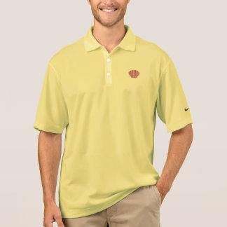Pink Shell Polo Shirt