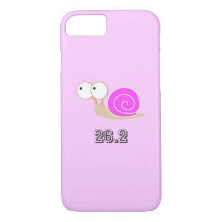 Pink shelled snail 26.2 iPhone 7 case