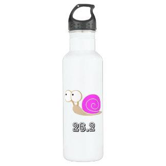 Pink shelled snail 26.2 24oz water bottle