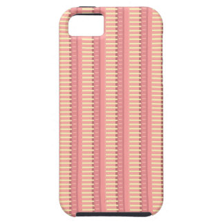 Pink Sherbet Stripes Coordinate iPhone 5/5S Case