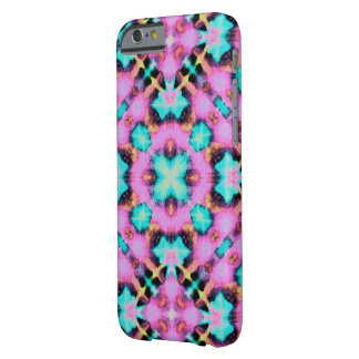 Pink Shibori Style electric patterned Barely There iPhone 6 Case
