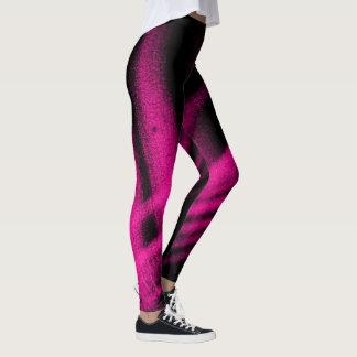 Pink Shimmer Printed Ladies Leggings