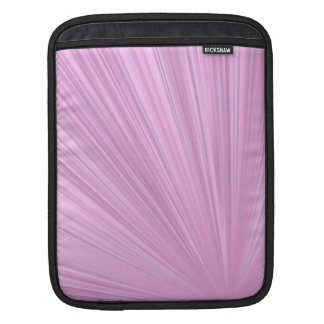 Pink Shine Background Sleeves For iPads