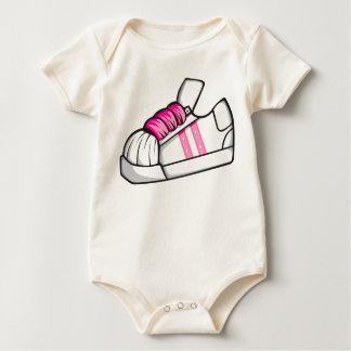 Pink Shoe Baby Bodysuit
