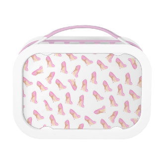 Pink Shoe Lunch Box
