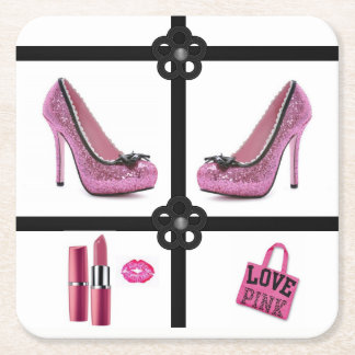 Pink Shoes Coaster