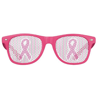 Pink & Silver Stripes party shades