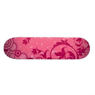 Pink Skateboard Design