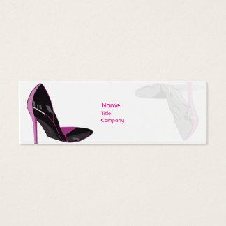 Pink - Skinny Mini Business Card