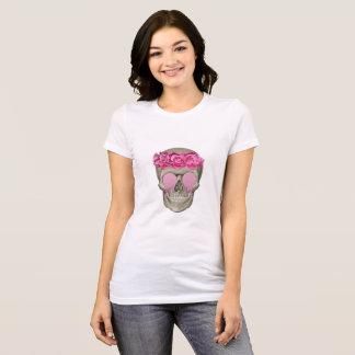 PINK SKULL AND ROSES T-Shirt