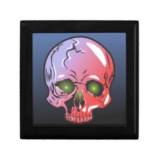 Pink skull gift box