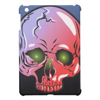 Pink skull iPad mini cover