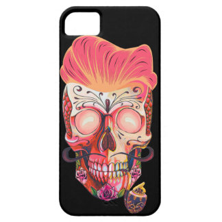 pink skull iPhone 5 case