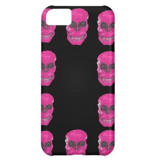 Pink skull, iphone case