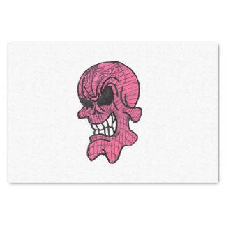 Pink Skull  Tissue Paper