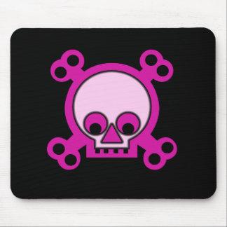 Pink Skulls Mousepad