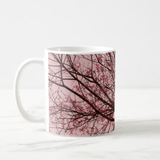 Pink Sky and Tree Branches Mug
