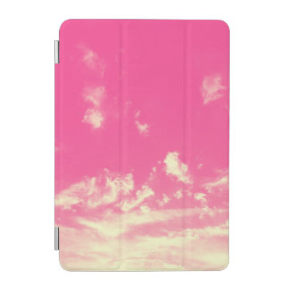 Pink Sky and Yellow Clouds iPad Mini Cover