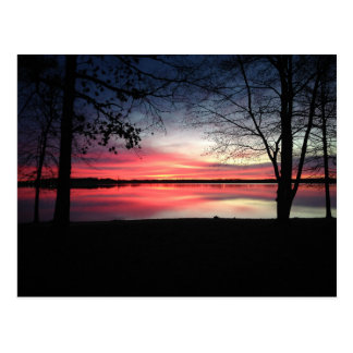 Pink Sky at Morning Postcard