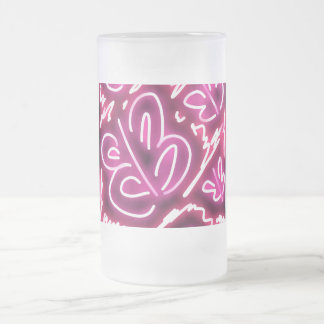 """Pink Sky At Night"" butterfly mug"