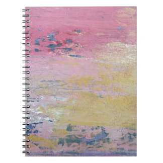 Pink Sky Delight Spiral Note Books