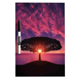 Pink sky Dry-Erase whiteboards