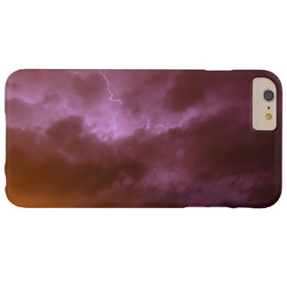 Pink Sky Lightening iPhone 6 Case Barely There iPhone 6 Plus Case