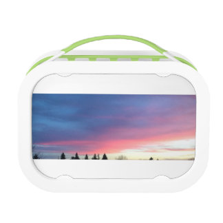 Pink sky lunchbox