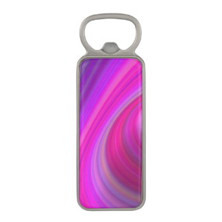 Pink sky magnetic bottle opener