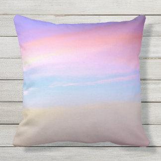 Pink Sky Outdoor Pillow