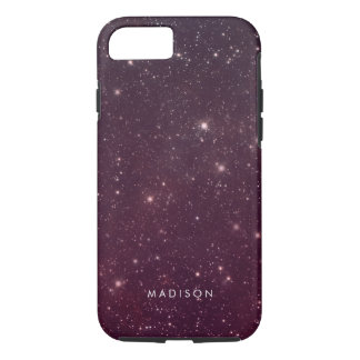 Pink Sky Pattern With Stars Case-Mate iPhone Case