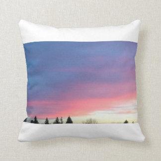 Pink sky pillow
