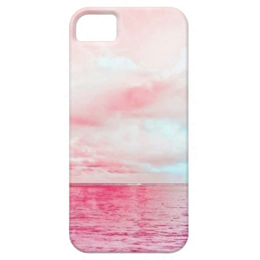 Pink Sky Pink Sea iPhone 5 Covers