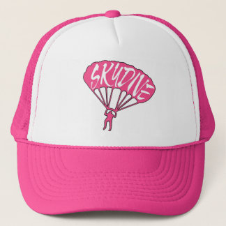 Pink skydive fanatic hat