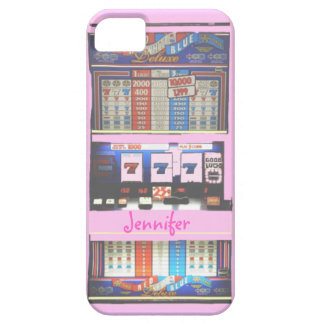 Pink Slot Machine Casino Gambler iPhone 5 Case