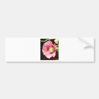 Pink Smile Bumper Sticker