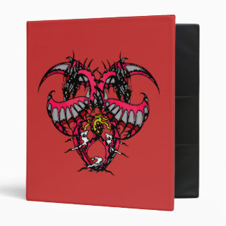Pink Smoke Dragonheart Binder